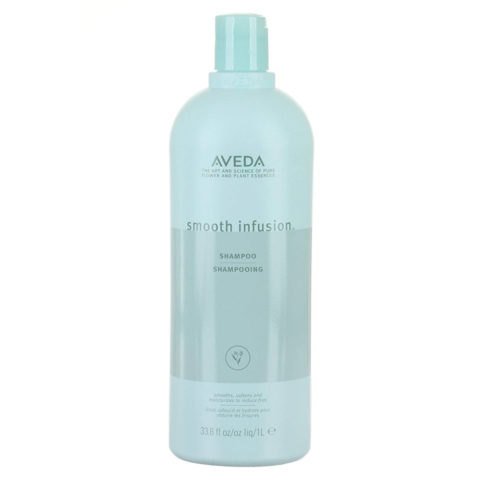Aveda Smooth infusion™ Shampoo 1000ml - shampoo anticrespo
