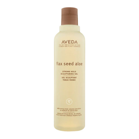 Aveda Styling Flax seed aloe strong hold sculpturing gel 250ml - gel tenuta forte