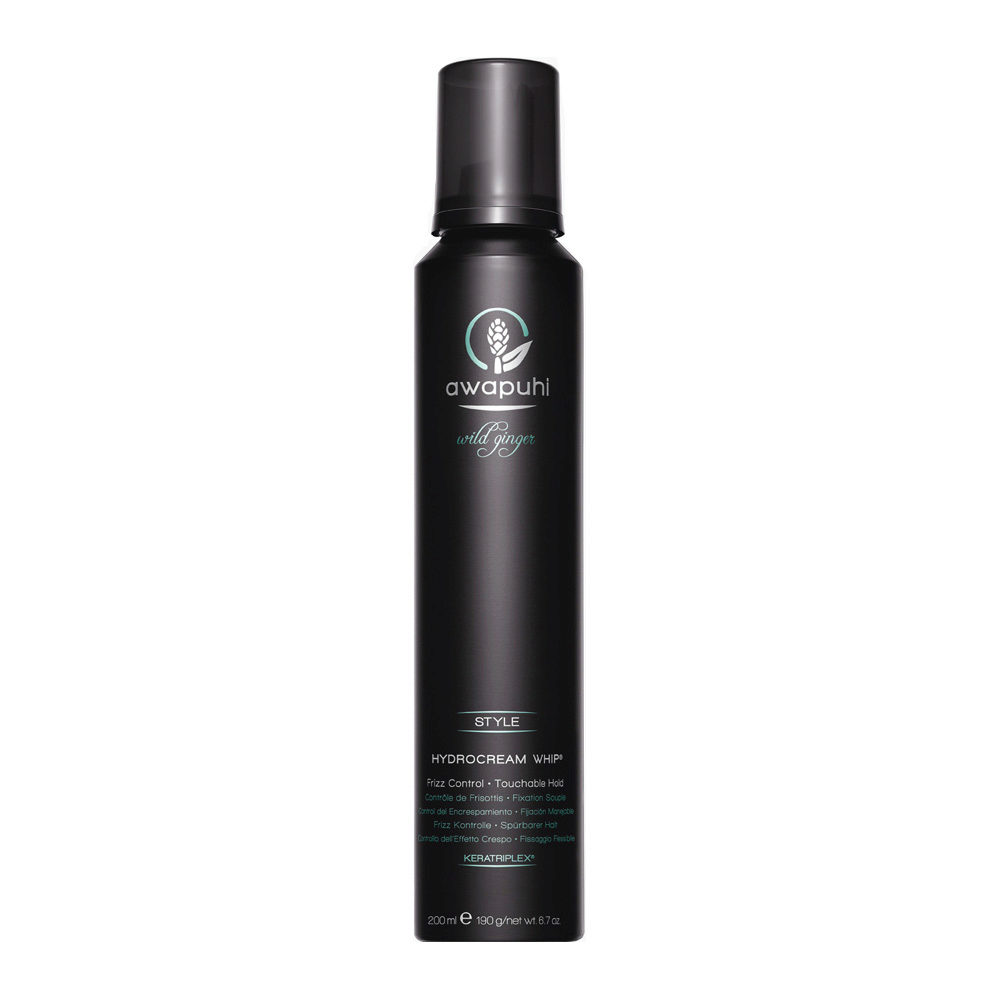 Paul Mitchell Awapuhi wild ginger Hydrocream whip 200ml - mousse idratante anticrespo