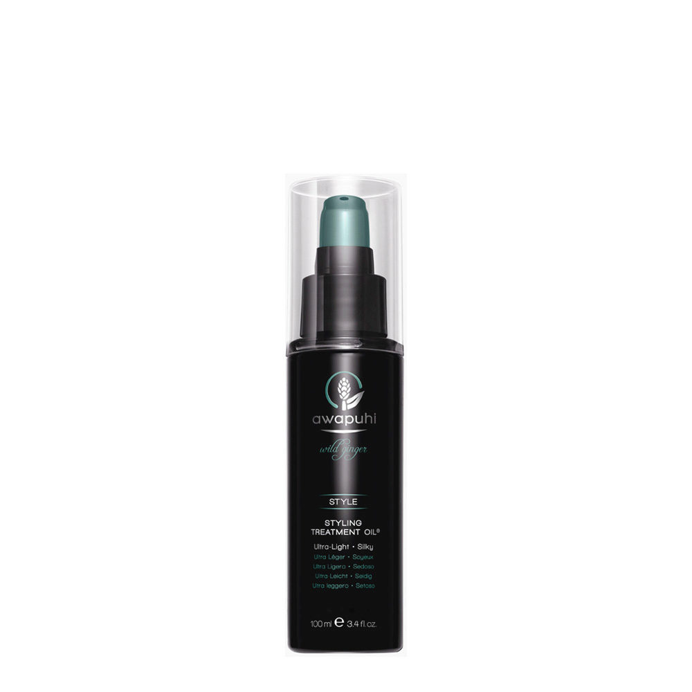 Paul Mitchell Awapuhi wild ginger Styling treatment oil 100ml - olio idratante riparatore