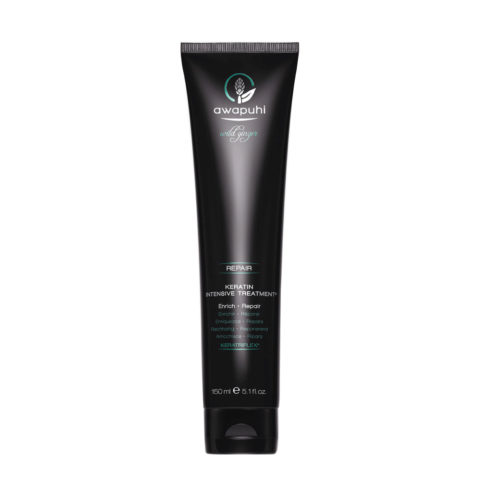 Paul Mitchell Awapuhi wild ginger Keratin intensive treatment 150ml - balsamo riparatore alla cheratina