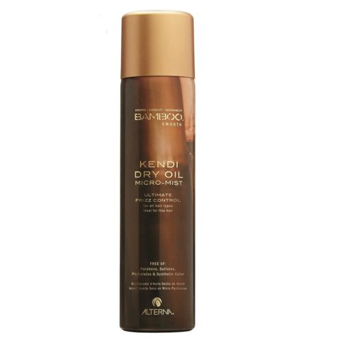 Alterna Bamboo Smooth Kendi dry oil micromist 142g - spray leggero anticrespo per capelli fini