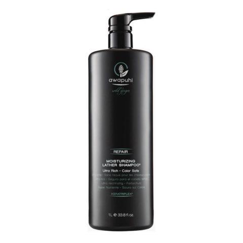 Paul Mitchell Awapuhi Shampoo Ristrutturante per Capelli Danneggiati 1000ml