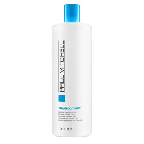 Paul Mitchell Clarifying Shampoo three 1000ml - shampoo detersione profonda