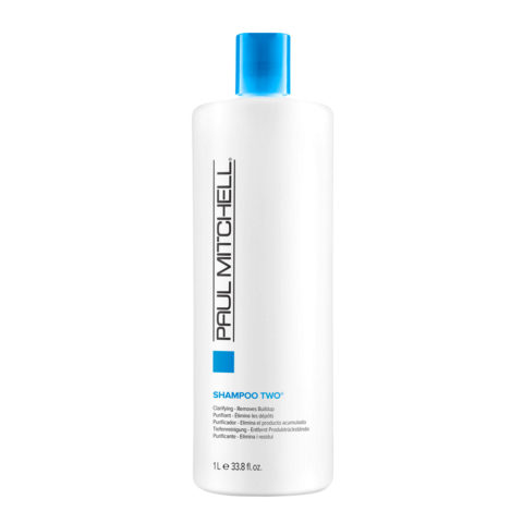 Paul Mitchell Clarifying Shampoo two 1000ml - shampoo seboregolatore