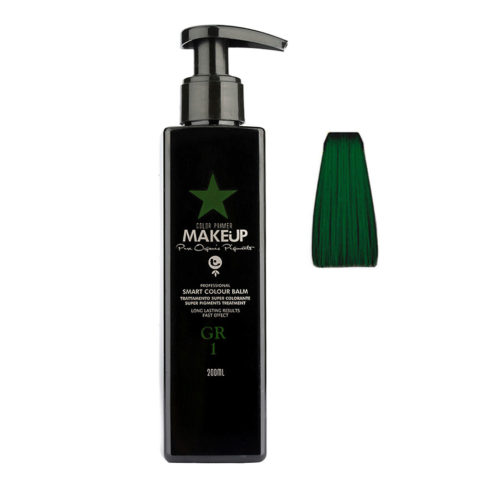Tecna Make up Color Primer Smart Colour Balm GR1 green 200ml - verde