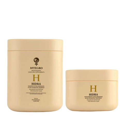 Tecna Integro Hidra Kit Shampoo 1000ml Treatment 500ml