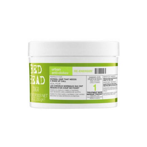 Tigi Urban Antidotes Re-energize treatment mask 200gr - maschera riparatrice livello 1