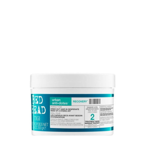 Tigi Urban Antidotes Recovery treatment mask 200gr - maschera riparatrice livello 2