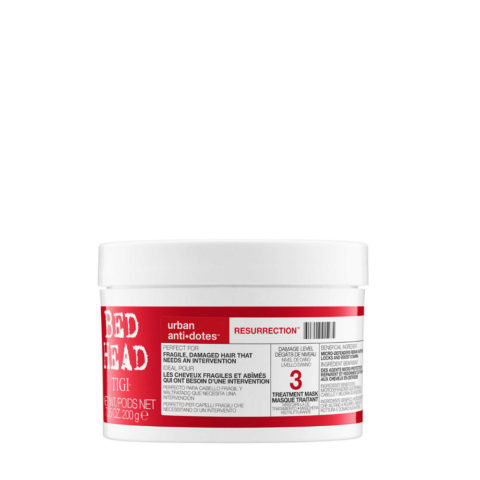 Tigi Urban Antidotes Resurrection treatment mask 200gr - maschera riparatrice livello 3
