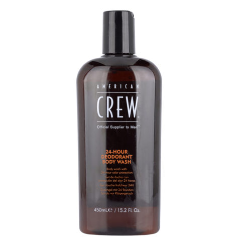 American Crew 24 hour deodorant Body wash 450ml - bagnoschiuma