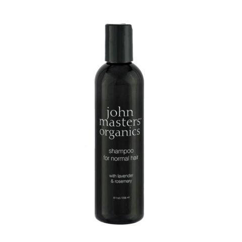 John Masters Organics Haircare Lavender Rosemary Shampoo for Normal Hair 236ml - capelli normali