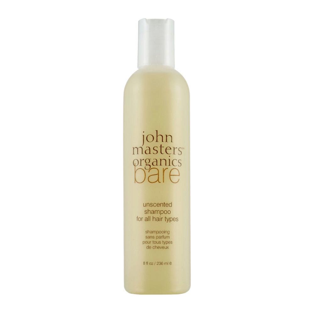 John Masters Organics Haircare Bare Unscented Shampoo 236ml - shampoo senza profumazione