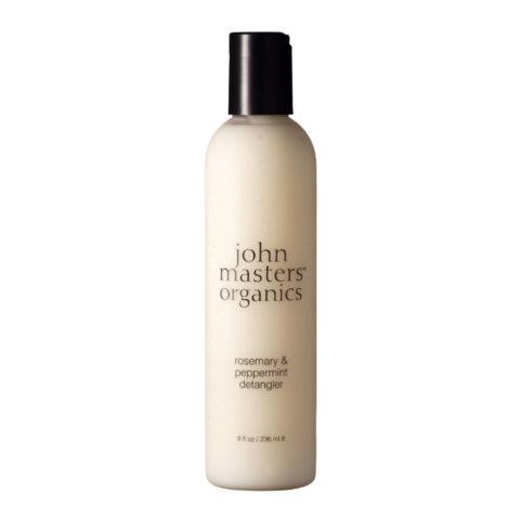 John Masters Organics Rosemary & Peppermint Detangler 236ml - districante rosmarino e menta piperita