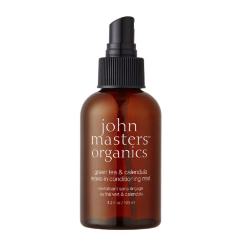 John Masters Organics Green Tea&Calendula Leave-in Conditioning Mist 125ml - spray condizionante