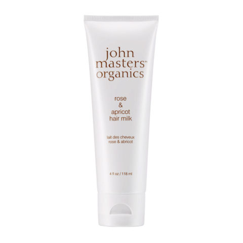John Masters Organics Haircare Rose & Apricot Hair Milk 118ml - latte per capelli
