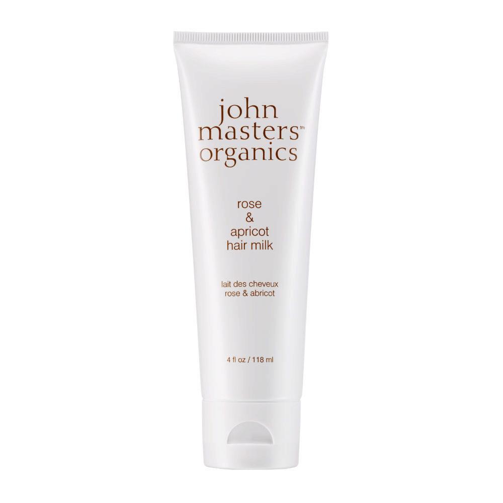 John Masters Organics Haircare Rose & Apricot Hair Milk 118ml - latte per capelli