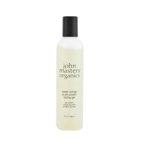 John Masters Organics Haircare Sweet Orange & Silk Protein Styling Gel 236ml - gel proteine arancia e seta