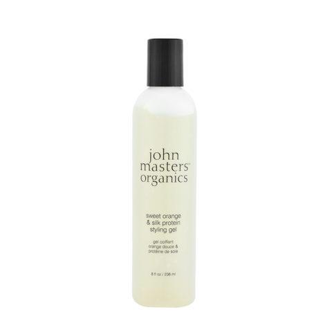 John Masters Organics Haircare Sweet Orange & Silk Protein Styling Gel 236 ml