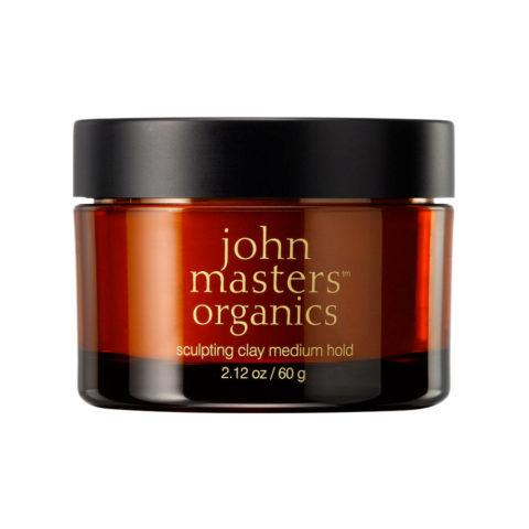 John Masters Organics Haircare Sculpting Clay - Medium Hold 60 gr