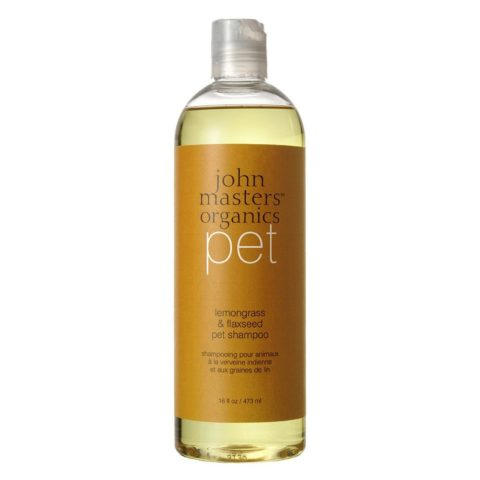 John Masters Organics Pet Lemongrass & Flaxseed Pet Shampoo 473ml - shampoo animali domestici
