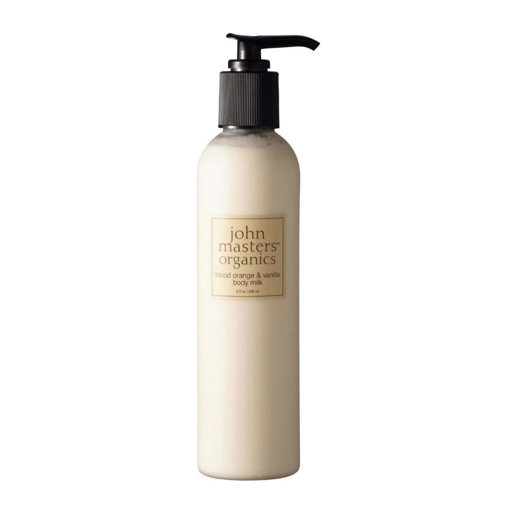 John Masters Organics Blood Orange & Vanilla Body Milk 236ml - latte corpo arancia e vaniglia