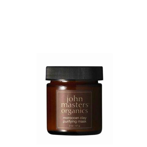 John Masters Organics Moroccan Clay Purifying Mask 57gr - maschera/argilla purificante viso