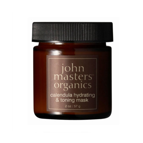 John Masters Organics Calendula Hydrating & Toning Mask 57gr - maschera idratante viso alla calendula