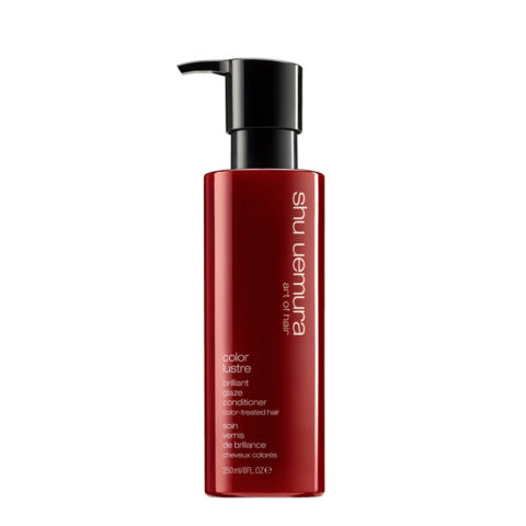 Shu Uemura Color lustre Brilliant glaze conditioner 250ml - balsamo capelli colorati