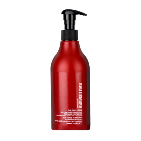 Shu Uemura Color lustre Brilliant glaze conditioner 500ml - balsamo capelli colorati