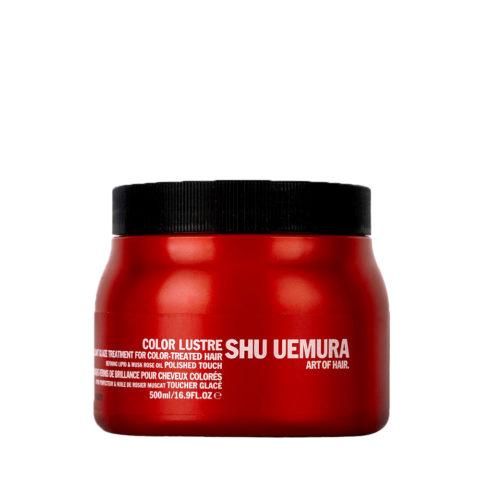 Shu Uemura Color lustre Brilliant glaze treatment masque 500ml - maschera per capelli colorati