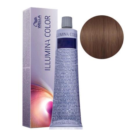6/76 Biondo scuro sabbia violetto Wella Illumina Color 60ml