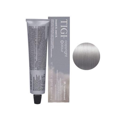 100/88 Ultra biondo platino fumo extra Tigi Lift 60ml