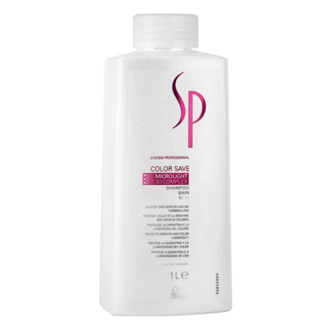 Wella SP Color Save Shampoo 1000ml - shampoo capelli colorati