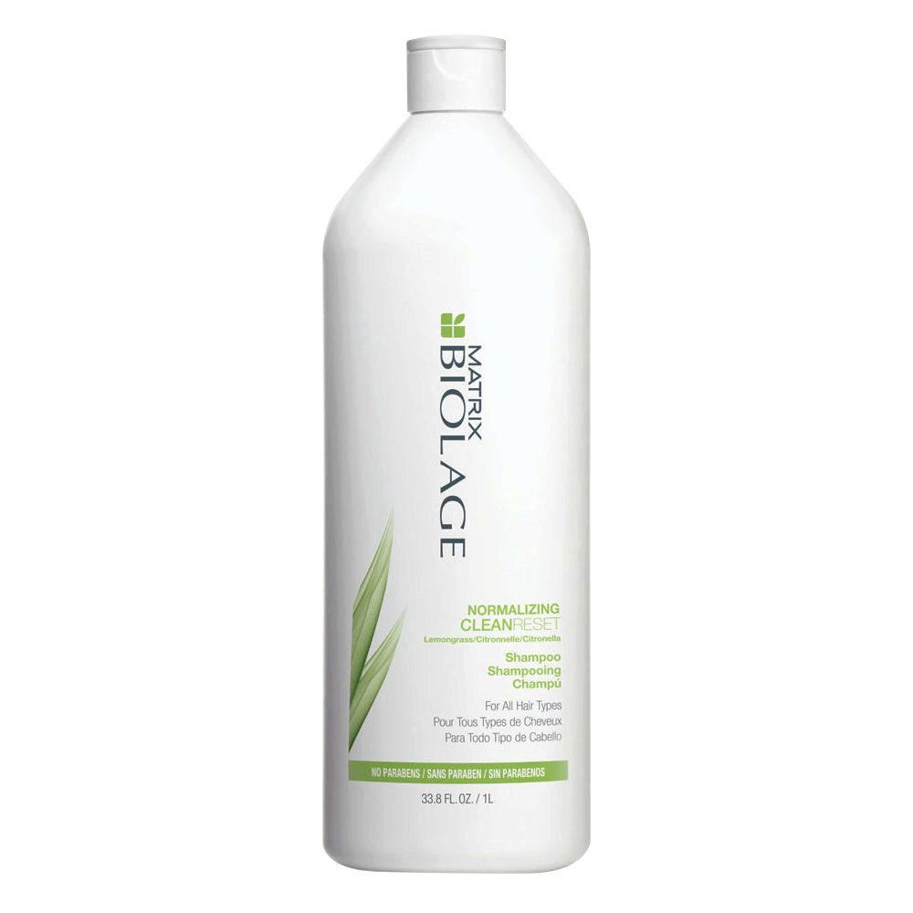 Biolage CleanReset Normalizing Shampoo 1000ml - shampoo capelli grassi