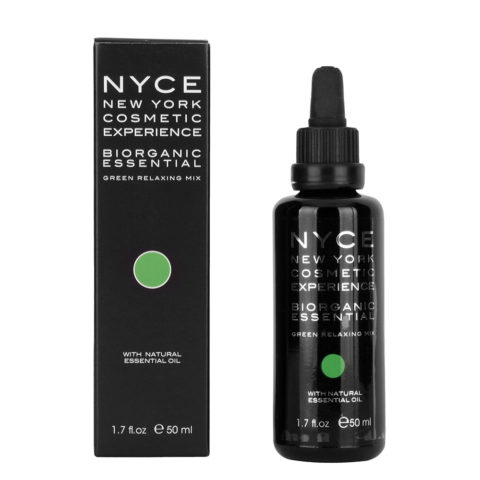 Nyce Biorganic essential Green relaxing mix 50ml - Olio essenziale rilassante