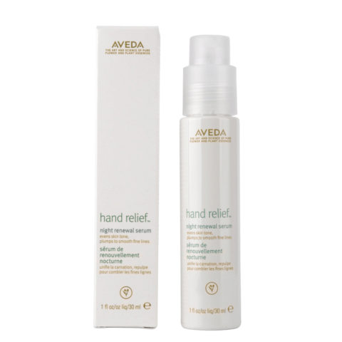 Aveda Bodycare Hand relief Night renewal serum 30ml - siero notte per le mani