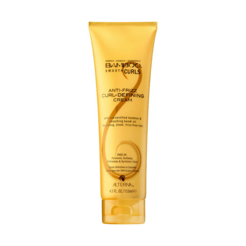 Alterna Bamboo Smooth Curls Anti-frizz Curl defining cream 133ml - crema per definire i ricci