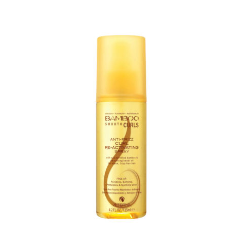 Alterna Bamboo Smooth Curls Anti-Frizz Curl Re-Activating Spray 125ml - spray riattiva ricci