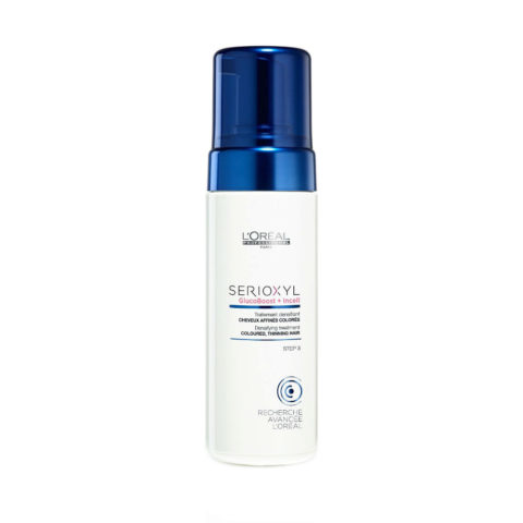 L'Oreal Serioxyl Aqua mousse Foam tech Densifying treatment capelli colorati 125ml