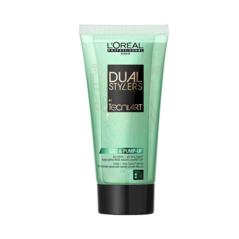 L'Oreal Tecni art Dual stylers Liss & pump-up 150ml - siero anticrespo volumizzante