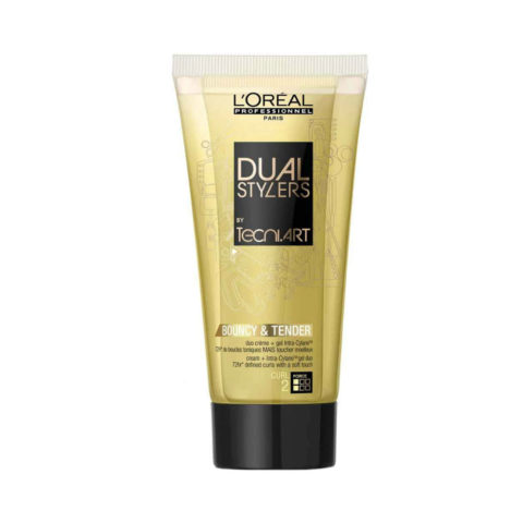 L'Oreal Tecni art Dual stylers Bouncy & tender 150ml