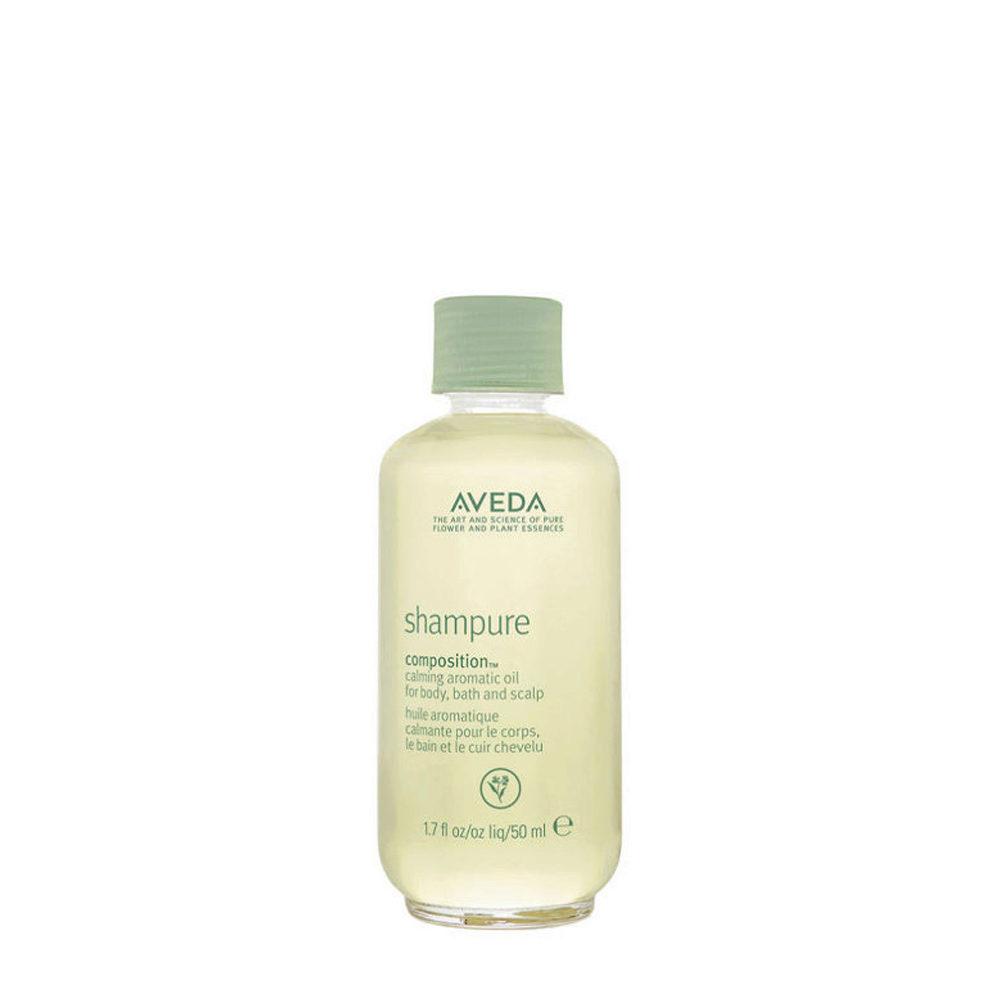 Aveda Bodycare Shampure composition™ 50ml - olio idratante per il corpo ed il cuoio capelluto