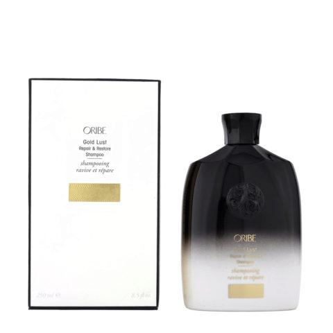 Oribe Gold Lust Repair & Restore Shampoo 250ml - shampoo riparatore
