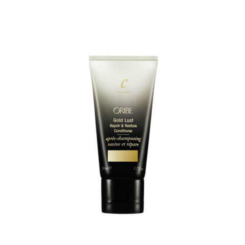 Oribe Gold Lust Repair & Restore Conditioner Travel size 50ml - balsamo ristrutturante