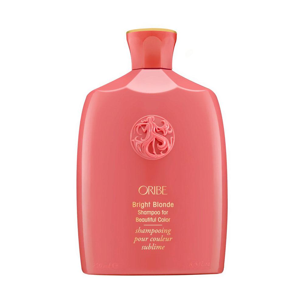 Oribe Bright Blonde Shampoo for Beautiful Color 250ml - capelli biondi grigi