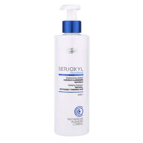 L'Oreal Serioxyl Clarifying shampoo capelli naturali 250ml