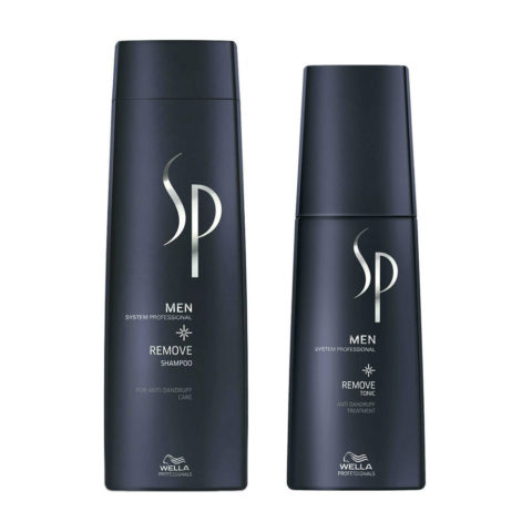 Wella SP Men Kit Remove Shampoo 250ml  Remove Tonic 125ml
