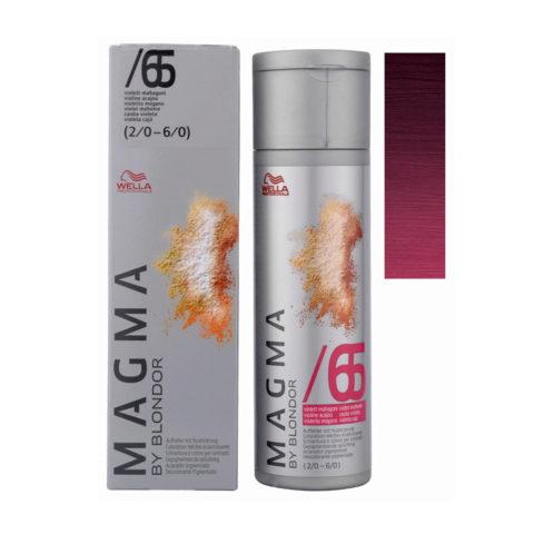 /65 Violetto mogano Wella Magma 120gr