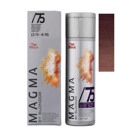 /75 Sabbia Mogano Wella Magma 120gr